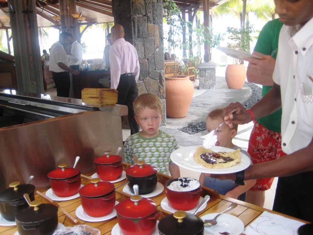 Lettukestit Mauritiuksella tarjosivat täytteitä jokaiseen makuun
