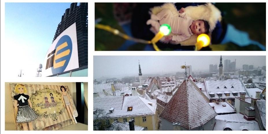 Tallinna, laiva, paperinuket, vauva