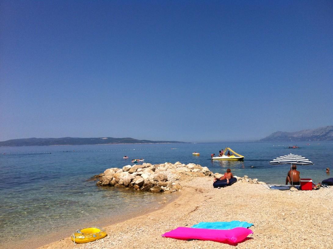 Kroatian rannoilla on syytä varautua auringolta suojautumiseen