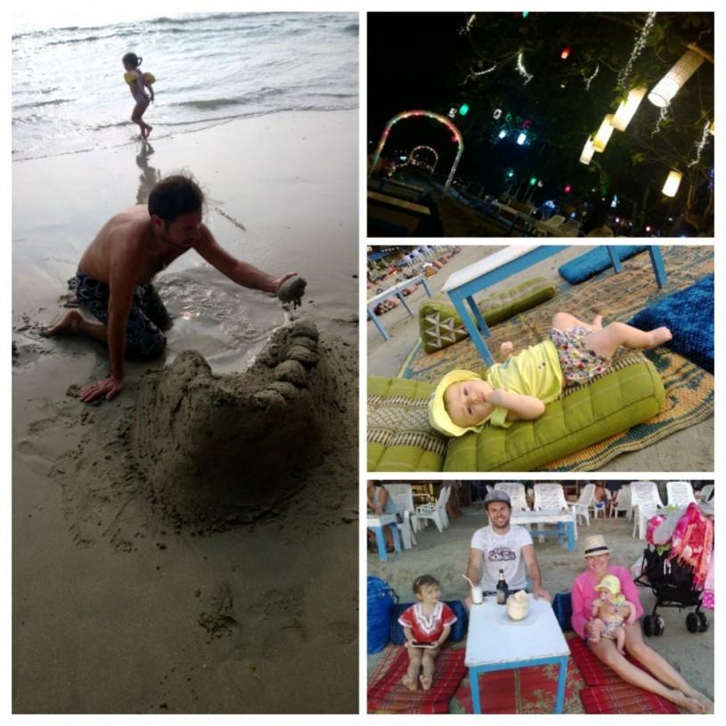 Koh Changin suosituimmalla rannalla White Sandy Beachilla ehdoton ykköspaikka on ravintola nimeltä Beach Tango.