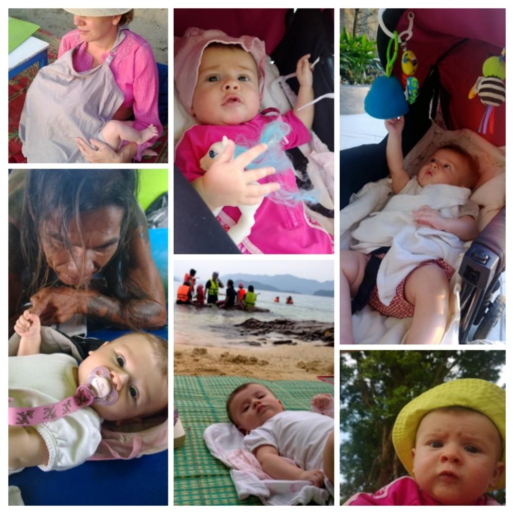 Vauvan kanssa reissatessa saa paljon hyvää huomiota osakseen. Enemmän kuin kerran selvisimme visaisesta tilanteesta, koska olimme matkassa lasten kanssa.