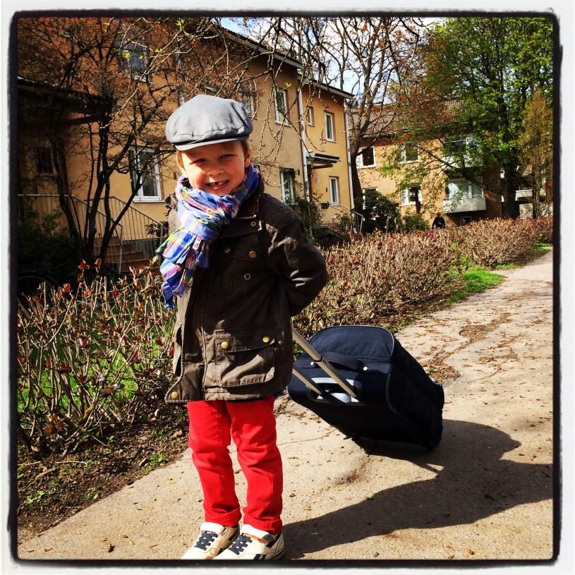 Ensimmäinen oma matka - Kielikylpymatka Tukholmaan