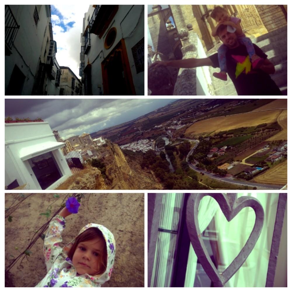 Arcos de la Fronteran valkoinen kaupunki täyttää tänä vuonna 750 vuotta. Näkymät ovat upeat vanhasta kaupungista.