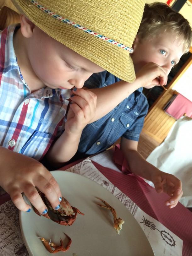 Taskuravut maistuivat pikku kulinaristeille