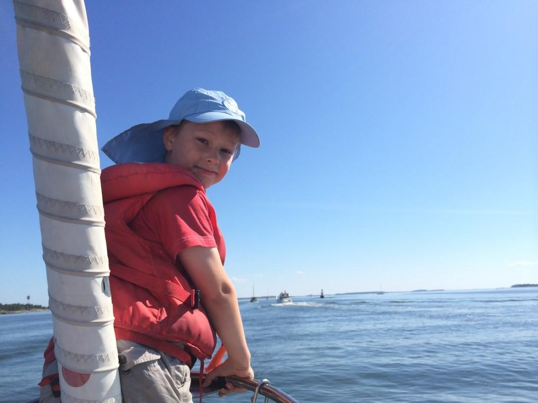 Heinäkuussa ylitimme Hangon Läntisen selän omalla purjeveneellämme, nyt on tiedossa toisenlaista kyytiä
