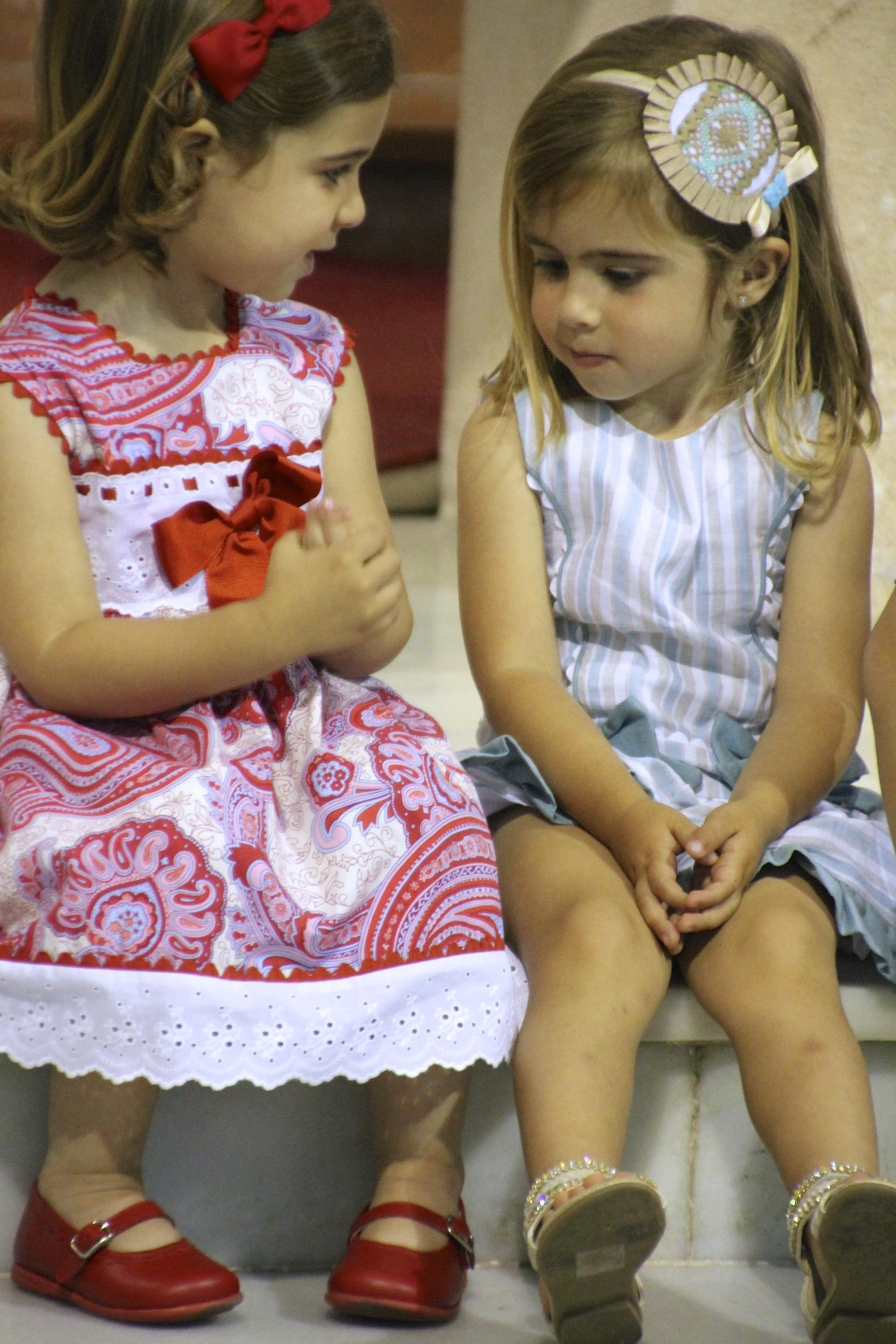 En voi lakata ihailemasta espanjalaisten lasten vaatteita...