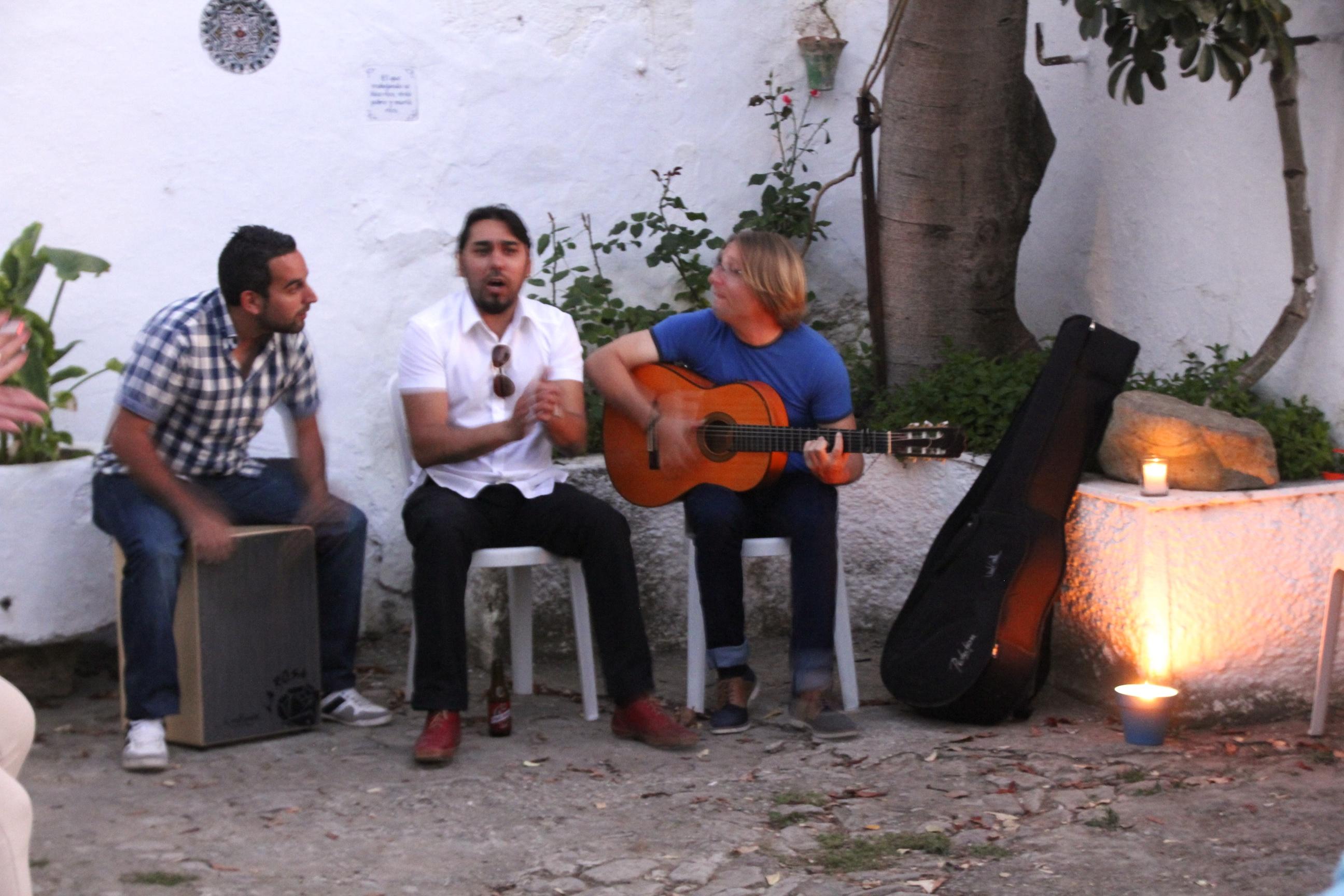 Flamenco grupo