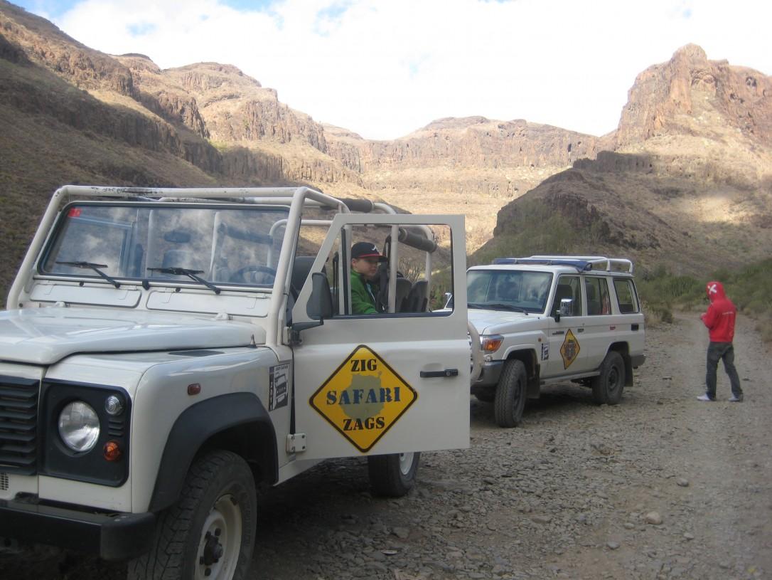 Gran Canarialla yksi kohokohdista oli jeeppisafari vuoristoon.