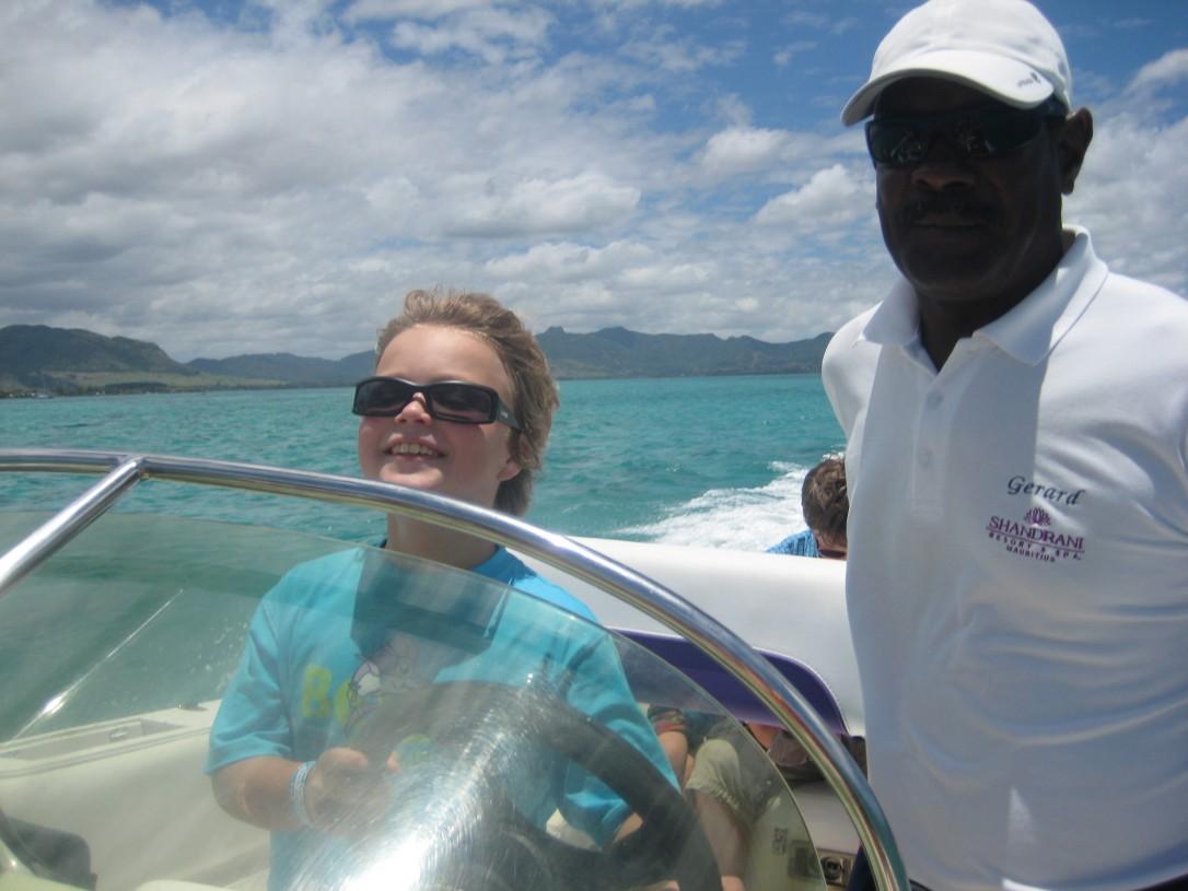 Mauritius oli paratiisi, joka tarjosi elämyksiä koko perheelle.