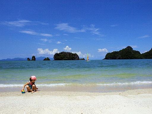 Tanjung Rhu hotelli on yksi harvoista Langkawilla, jolla on täysin oma kokonainen ranta.