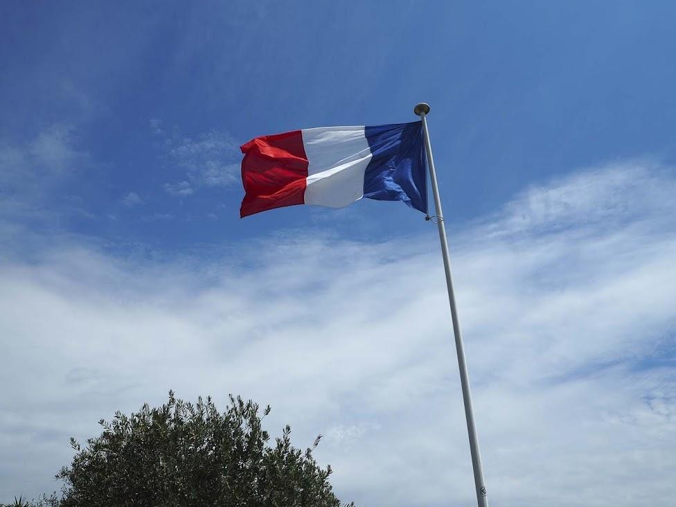 Ranskan lipun värit Bleue, Blanc, Rouge!