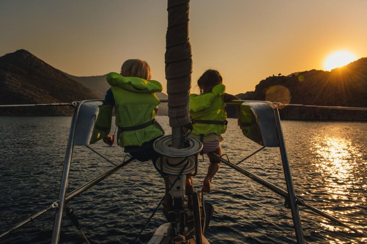Matkustamalla lapset saavat uusia näkökulmia ja maailmankuva avartuu.