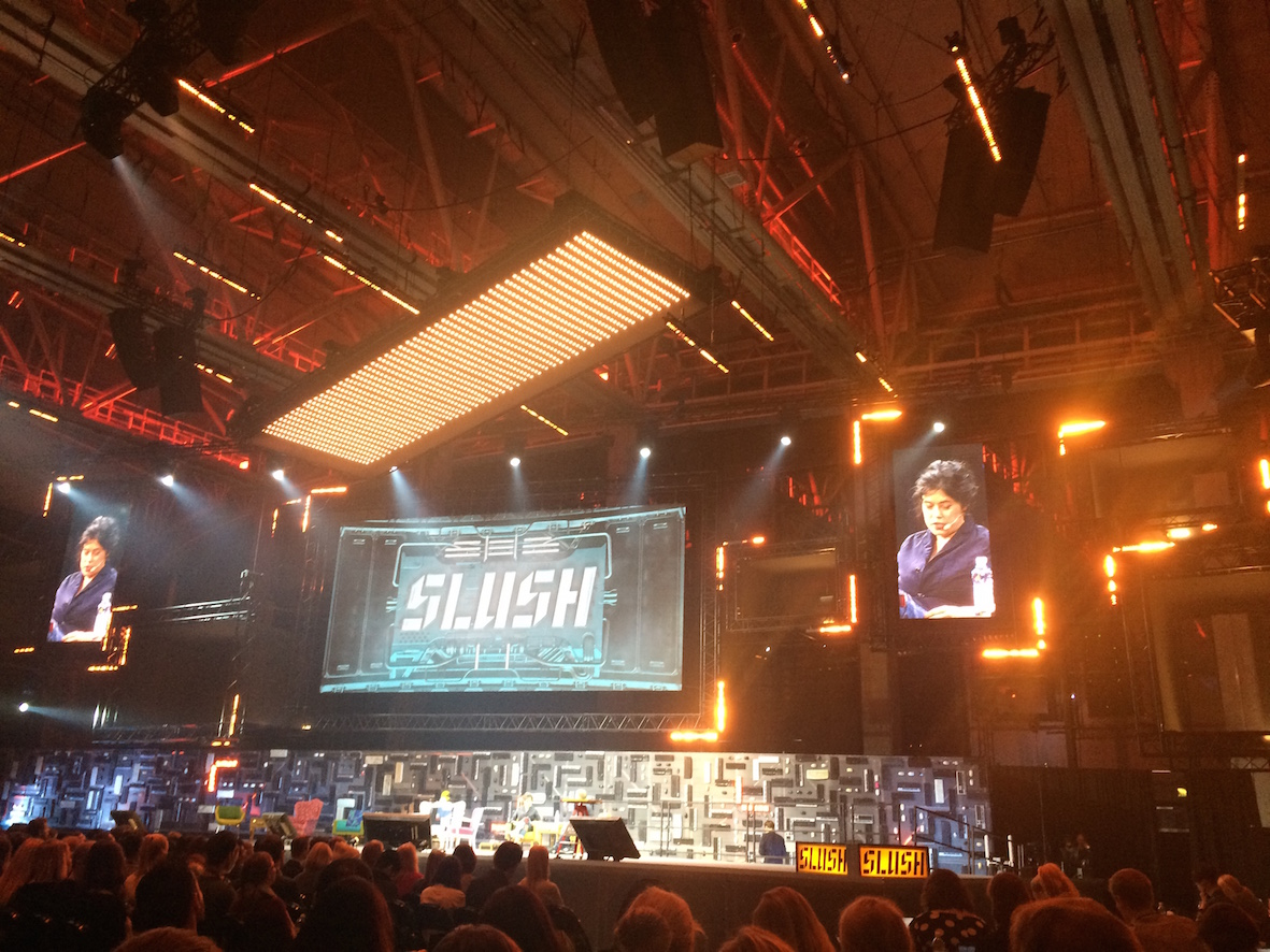 SLUSH oli inspiroiva. Tiesitkö, että Flickr'n perustaja Caterina Fake asuu osittain Suomessa ja on ollut mukana perustamassa Kahvila Siiliä Käpylään?