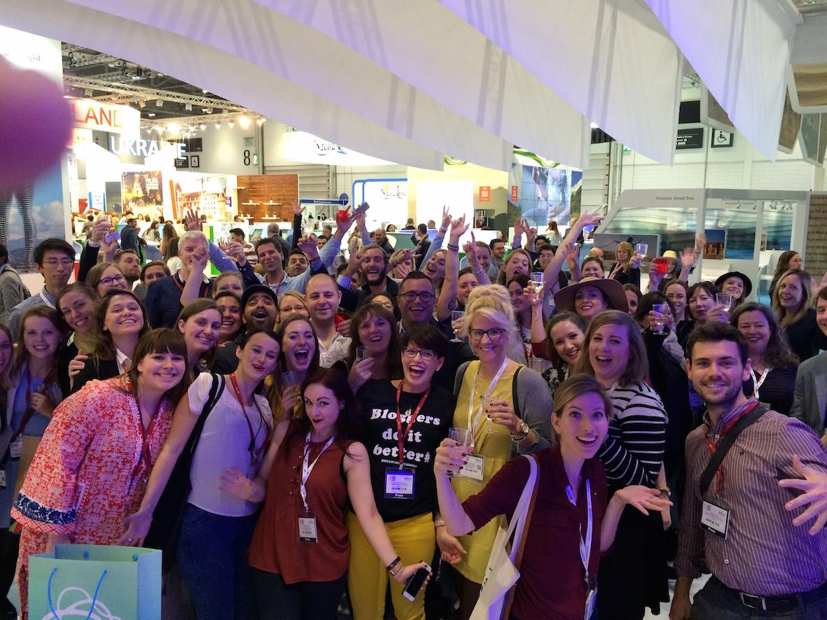 Lontoon WTM messuilla sain isännöidä yli 70 matkabloggaajan joukkoa Visit Finlandin osastolla.