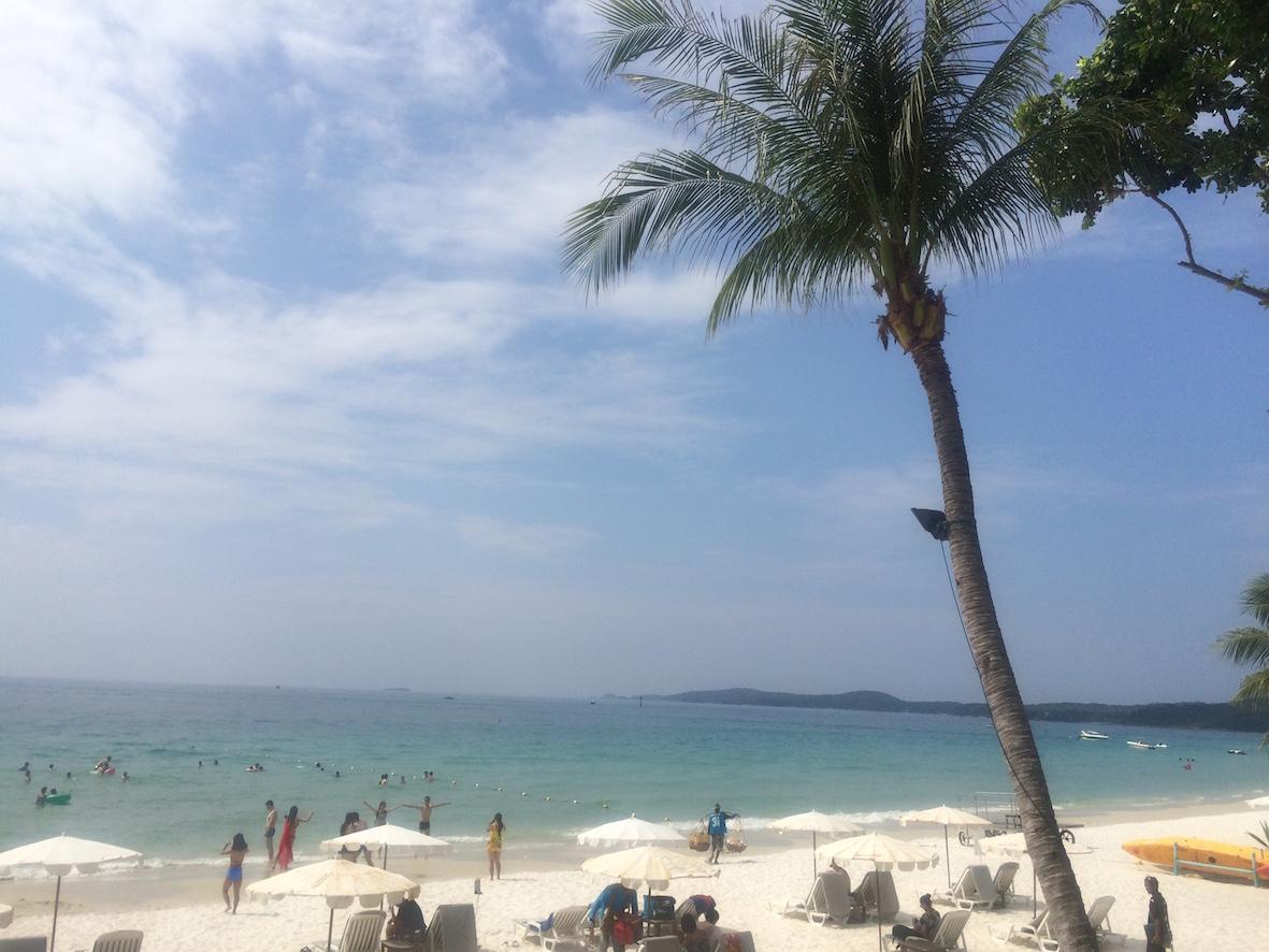 Sai Kaew Beach on täydellinen ranta paahteisen rantapäivän viettoon.