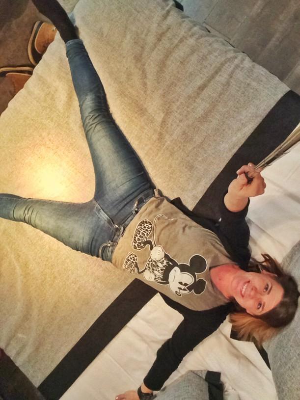 Hotelli Alman sängyssä