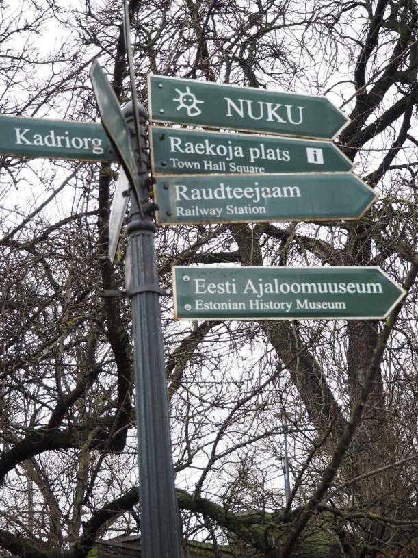 Tallinna tienviitta