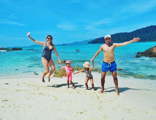 Our Family at Koh Lipe