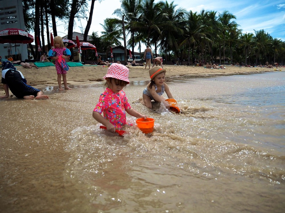 Phuketin paras ranta lasten kanssa