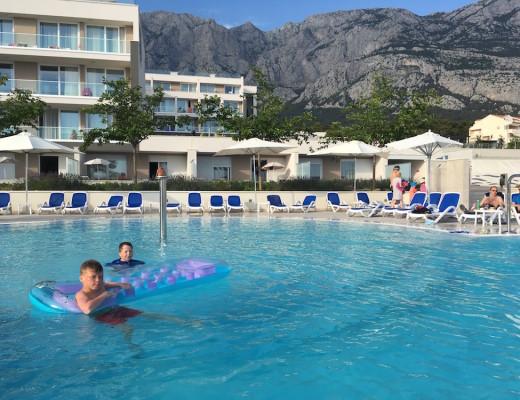 Romana Beach Resort uima-allas_Makarska_Kroatia