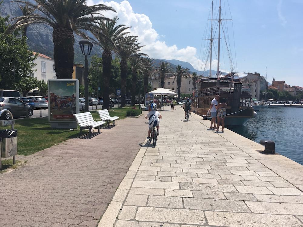 Pyöräretki_Makarskan satama